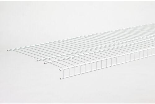 ClosetMaid White Wire Shelf Shelving Rack Adjustable Tier Steel Heavy Duty