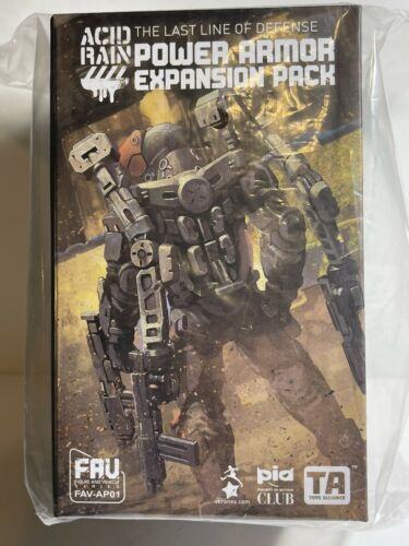 1:18 3.75 Gi Joe MTF BFS Acid Rain Power Armor Expansion Set Us Seller in-hand