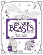 Fantastic Beasts and Where to Find Them: Magical Creatures Coloring Book by HarperCollins Publishers Ltd. Staff (2016, Paperback)