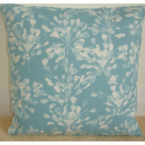 18-034-Cushion-Cover-Blue-and-Ivory-Cream-Absract-Allium-Flowers