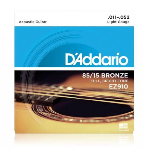 DAddario EZ910 American Bronze 011-052