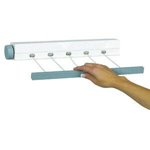 Image Is Loading Outdoor Indoor Retractable 5 Line Clothesline  Laundry Dryer