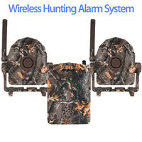 Bestguarder Wireless Hunting Aarm System 2xdetectors Motion Sensor Security