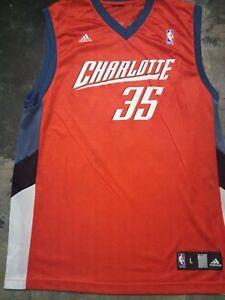Adam-Morrison-Charlotte-Bobcats-Adidas-Basketball-jersey-Lsize-RARE