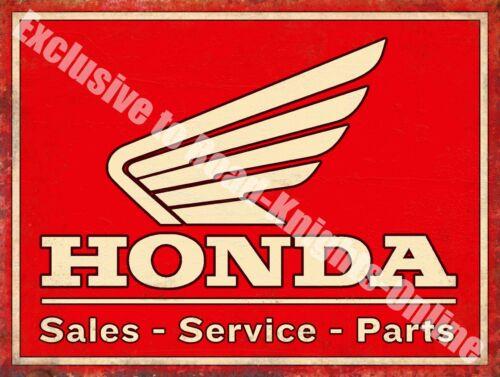 Large Metal Tin Sign Honda Classic 70/'s Retro Motorcycle Bike 108 Old Garage