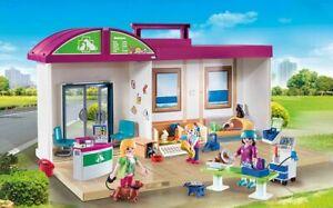 Playmobil 70146 - Hôpital vétérinaire pour animaux, hôpital vétérinaire, neuf / embal.   Origine