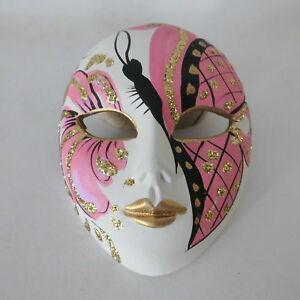 1-Venezianische-Maske-handgemalt-mit-Aufhangung-Keramik-Venedig-Venice-Mask