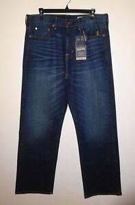 Relax Bleu Coupe 4 Pour Stretch Nwt Denim Jeans Homme 42x30 Indigo Premium Cremieux HTqS46H