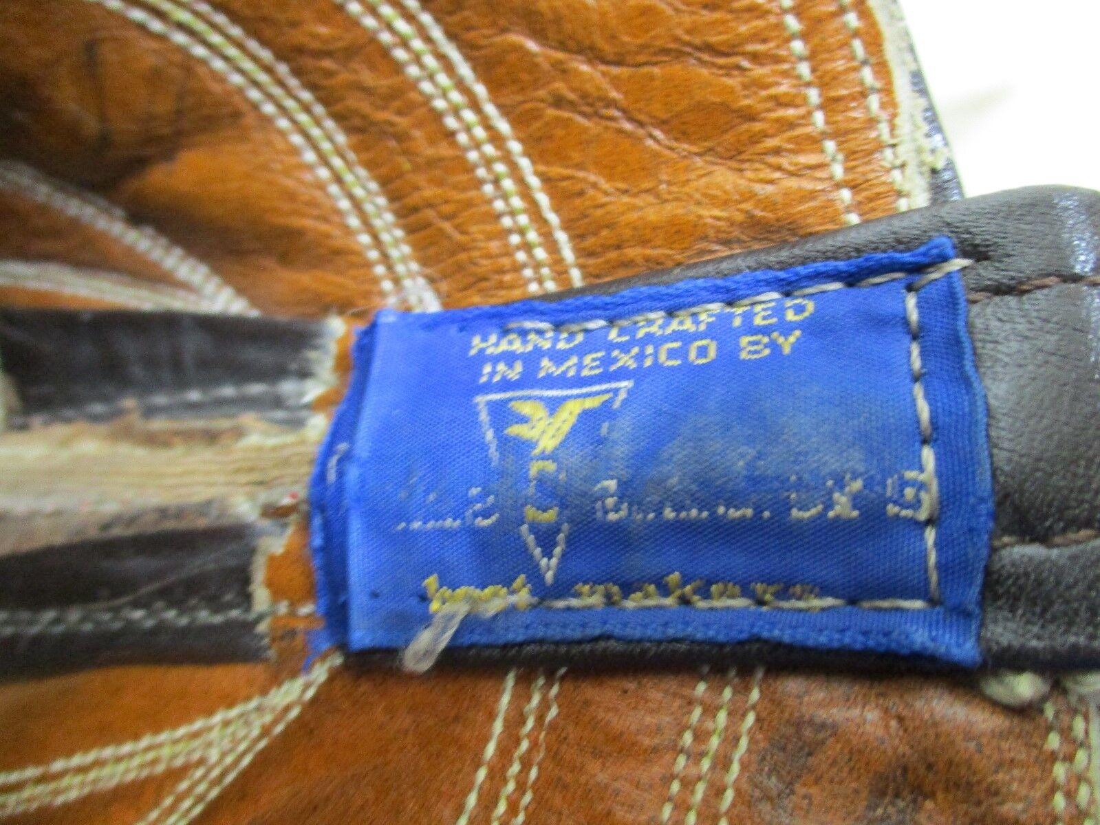 SANDERS Braun Leder Cowboy Stiefel Style Damenschuhe Größe 6 A Style Stiefel 3022 29ff9f
