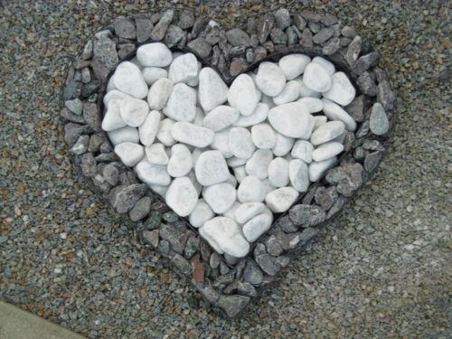 Herzgitter Gabionenherz Herz mit Steinfüllung