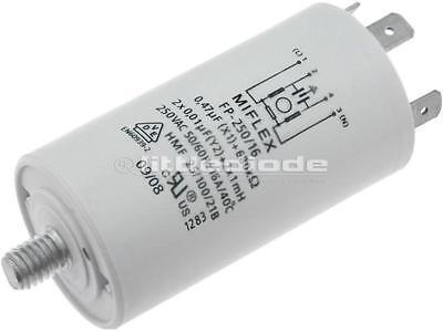1 X FILTRO FP-250//16 anti-interferenza; rete; 250VAC; 1mH; Cx:0.47uF; Cy:10nF