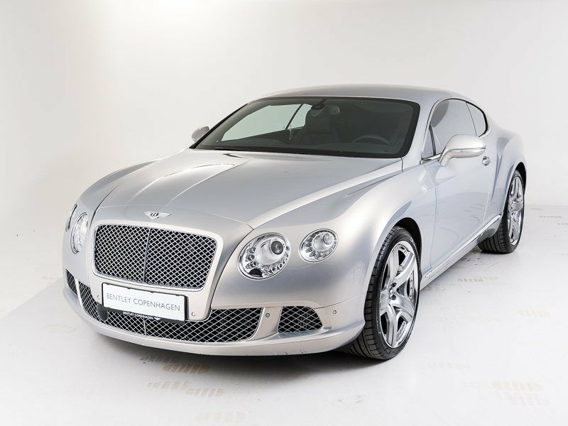 Bentley Continental GT 6,0 W12 aut. 2d - 12.447 kr.