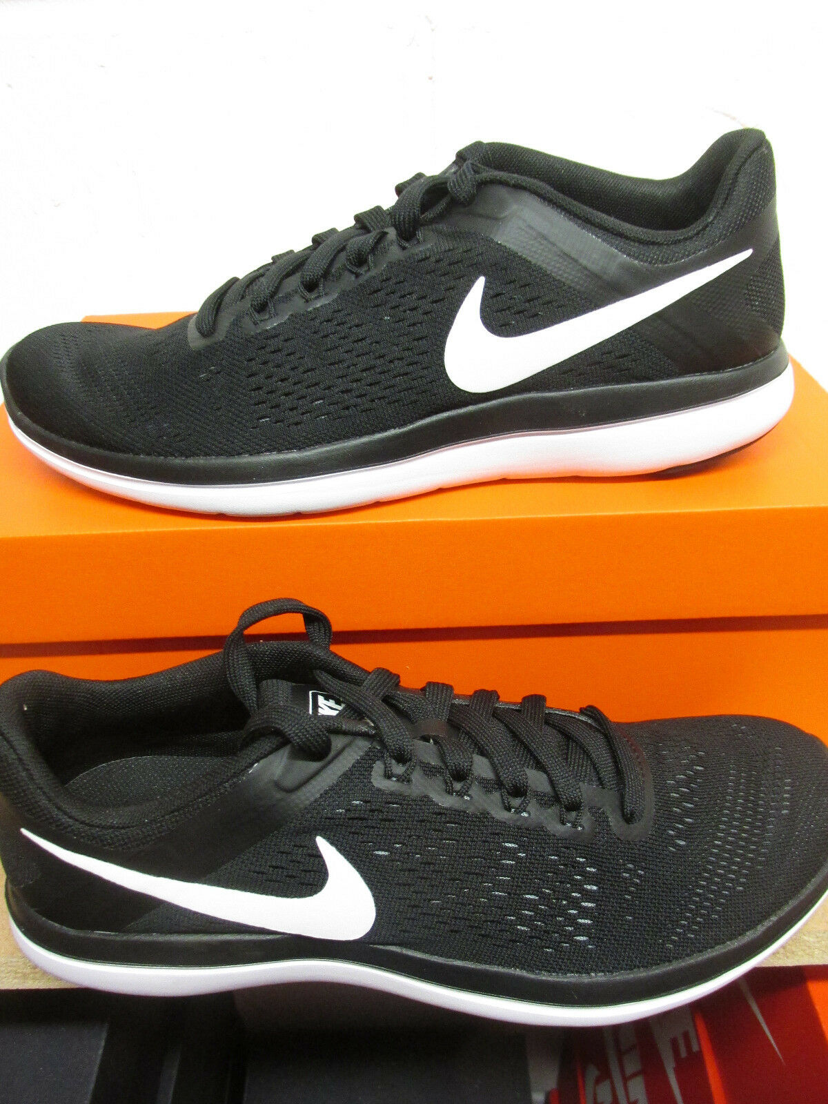 Nike Running Flex 2016 RN Mens Running Nike Trainers 830369 001 Sneakers Shoes 9a4296