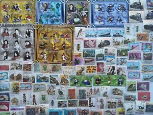 400-Different-Mozambique-Stamp-Collection