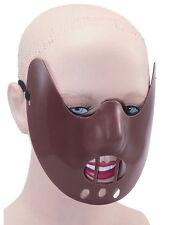 Halloween Hannibal Lecter Restraint Plastic Face Mask Fancy Dress Accessory New