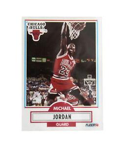 LOT-of-20-1990-91-Fleer-Michael-Jordan-Chicago-Bulls-26-Basketball-Cards-HOF