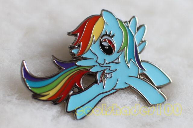 rainbow dash my little pony brony bronie metal lapel pin badge ebay