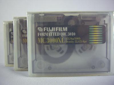 Miele 3x Mini Data Mini Data Cartridge Fuji Mc 3000xl __ New __- Firm In Structure