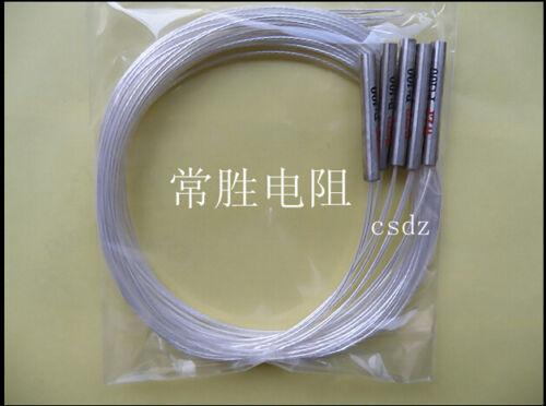20-450 ℃ PT100 Platinum désobéira Capteur de température Temp sonde étanche 5pcs
