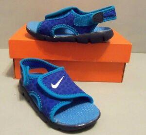 8d877dec76a5 Nike Girl s Boys Kids Toddler Sunray Adjust 4 Sandals Shoes SIZES ...