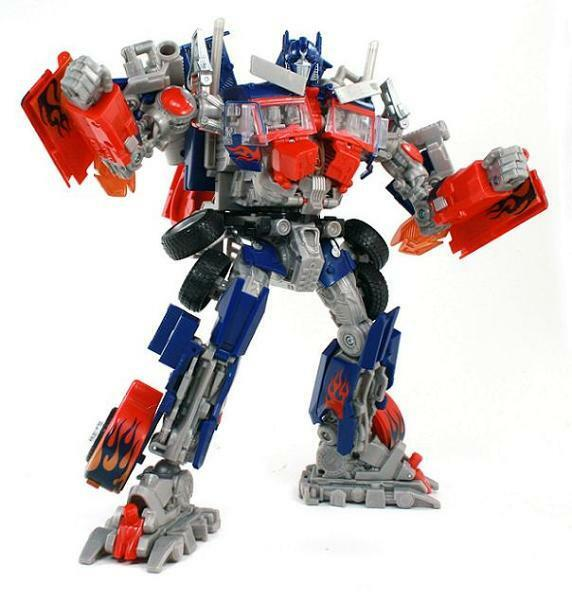 Transformers Revenge Of The Fallen OPTIMUS PRIME Complete redf Leader