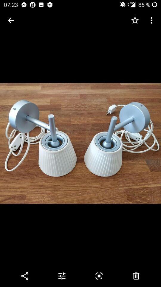Væglampe, Philippe Starck – dba.dk – Køb og Salg af Nyt og Brugt