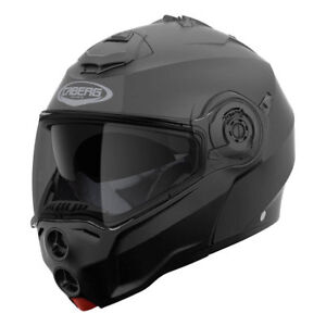 Casco-modular-con-apertura-moto-Caberg-Droid-negro-mate-black-matt-Talla-XS