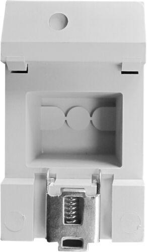 Einbausteckdose Hutschiene Zählerschrank Verteilereinbau 16 A Frankreich Belgien