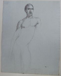 man drawing black Nude