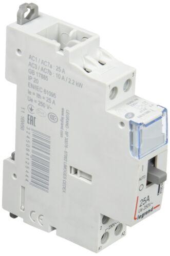 2 Na 230 V Installationsschütze,25 puissance Contacteur Legrand Interrupteur