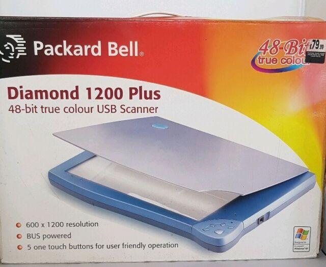 PACKARD BELL SCANNER DIAMOND 1200 PLUS TREIBER WINDOWS 10