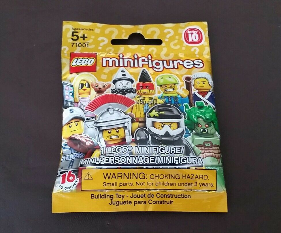 Lego Series 10 Minifigure BUMBLEBEE GIRL FACTORY SEALED