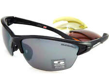 SUNWISE Prescription MONTREAL MK1 Sport Black sunglasses 4 x Changeable lens