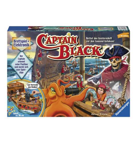 NEU Geisterschiff Elektronik-Brettspiel CAPTAIN BLACK Ravensburger 22293