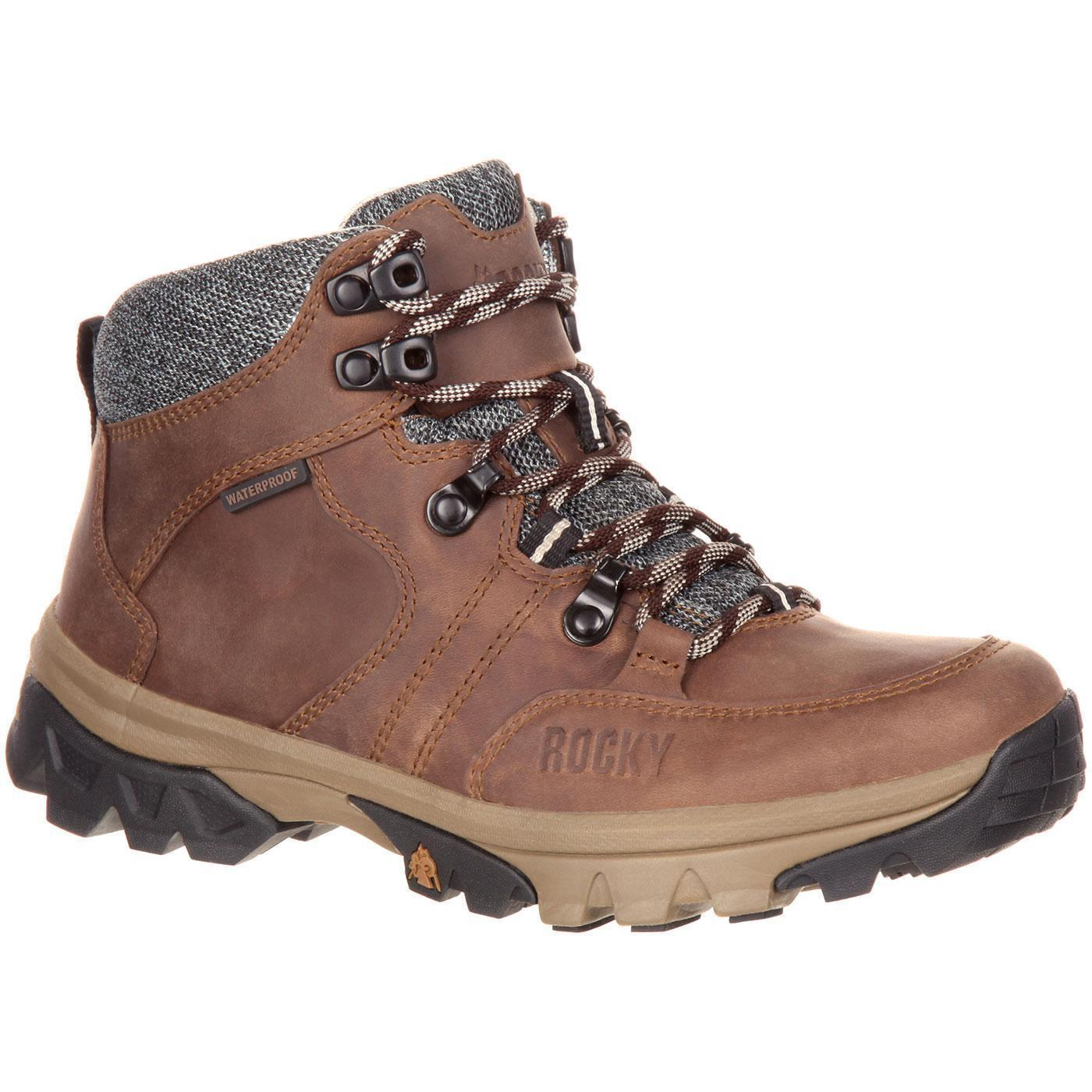 Rocky RKS0301 Women's Endeavor Point Point Point 5  Waterproof Lace Up Leather Hiking Boot aff268