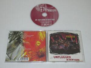 NIRVANA/MTV UNPLUGGED IN NEW YORK(GEFFEN GED 24727) CD ALBUM