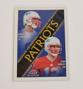 Tom-Brady-2000-Fleer-Skybox-Impact-27-Rookie-RC-New-England-Patriots-Card