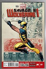 SAVAGE WOLVERINE #1 - FRANK CHO STORY, ART & COVER - MARVEL NOW! - 2013
