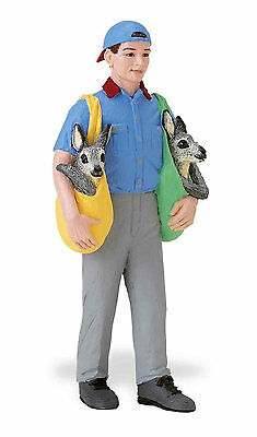 223729 DAVE WITH BILLY HUMAN MODEL by SAFARI WORKS WELL WITH SCHLEICH AND PAPO