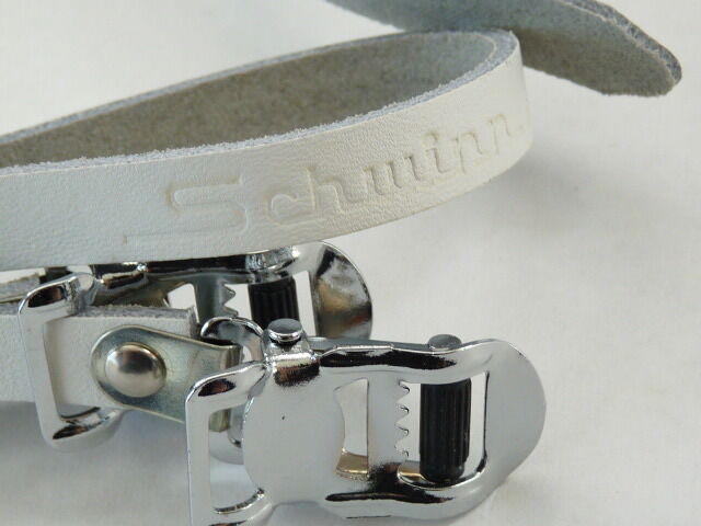 Schwinn toe straps leather White Pedal  Vintage Road Bicycle approved mtb NOS  sale online discount