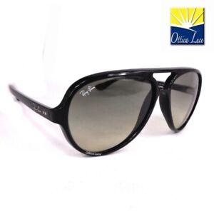 Cats Sunglasses 4125 60132 Sur Sole Ray 5000 Lunettes Ban Sonnenbrille Nero Détails Nn8O0wvym