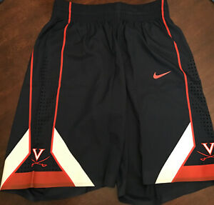 NWT-Virginia-UVA-Cavaliers-Basketball-Team-Issued-Nike-Blue-Game-Shorts-40-4