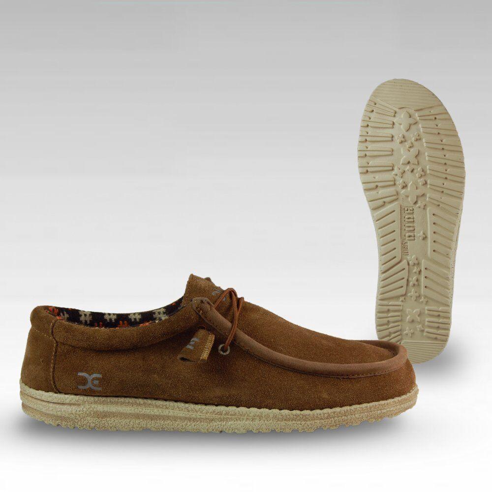 stile classico da invernale scamosciata pelle scarpe Hey