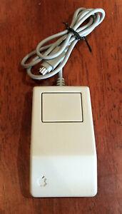 Vintage-MOUSE-APPLE-Macintosh-Desktop-Bus-Single-Button-G5431-Mouse