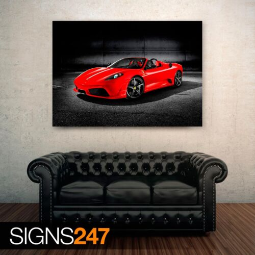 Car Poster 0696 FERRARI SCUDERIA SPIDER Photo Poster Print Art * All Sizes