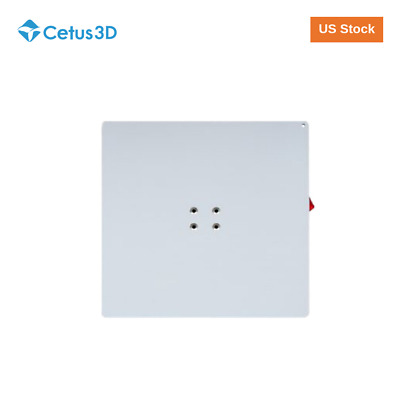 US Stock Tiertime Cetus Uncoated Build Plate for MK1//MK2//MK3