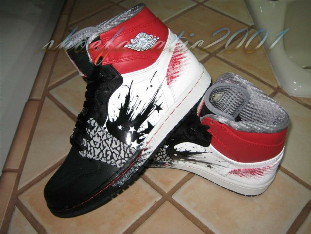 Nike Air Jordan 1 Dave White Limited Edition 8.5 Retro SB Banned Concord Supreme Comfortable and good-looking