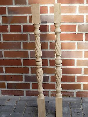 Gedrechselte Säule Holzgeländer Pfosten Treppenpfosten Buche Antrittspfosten Top Durchsichtig In Sicht
