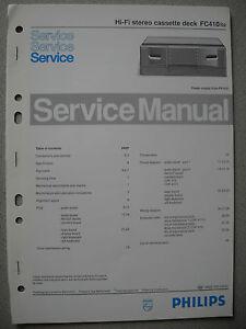 Philips-FC410-Service-Manual
