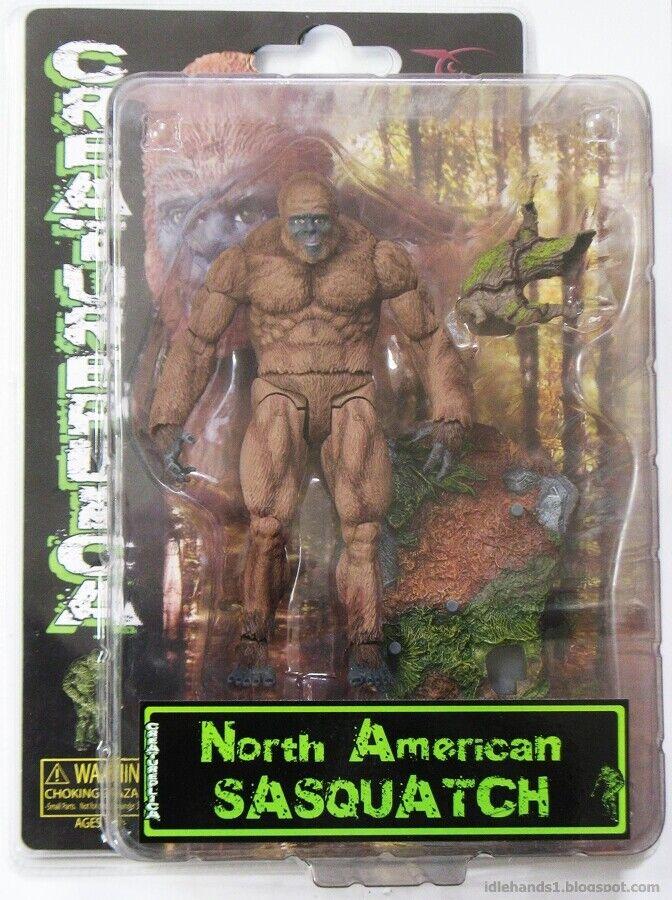 North American Sasquatch Sasquatch Sasquatch Creatureplica Series 1 60f8ed